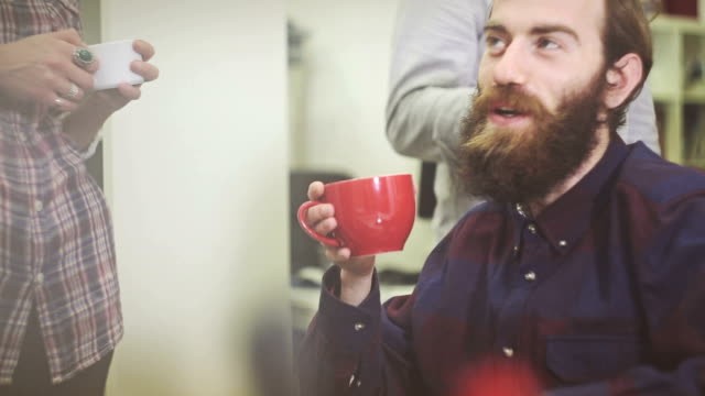 Creative team coffee break!