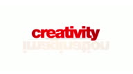 Creativity concepts animation