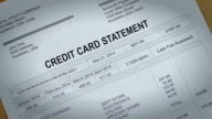 Credit Card Statement Past Due