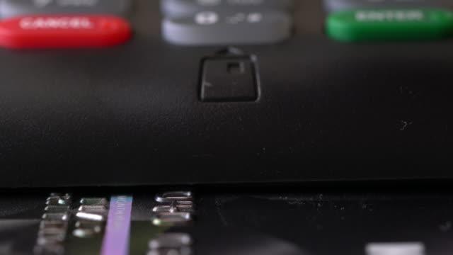 Creditcard Terminal Machine Chip en Pin in de winkel