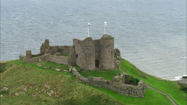 AERIAL, Criccieth Castle, Wales