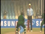 Cricket game in Pakistan