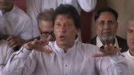 Cricketer turned politician Imran Khan says the country is full of hope after Pakistan's Supreme Court disqualifies Prime Minister Nawaz Sharif from...