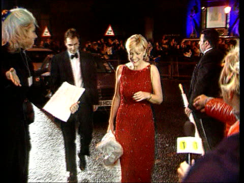 Jill Dando Murder Police Compile E Fit LIB Jill Dando towards as arriving at National Television Awards with fiance Dr Alan Farthing