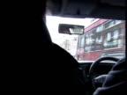 Juvenile Crime Tagging Plans ITN ENGLAND London Seq Home Secretary David Blunkett MP given tour in unmarked police car David Blunkett MP interview...
