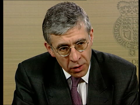Police Racial Discrimination Legislation ITN London Home Office Jack Straw MP interview SOT It's not a magic wand but is really important step...