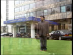 Ford Racism Row ITN ENGLAND London Ford worker Sukhjit Parma who suffered 4 years of racial abuse and violence whilst working at Ford's Dagenham...