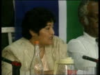 Crime/Politics Winnie Mandela POOL INT Lawyer questioning Winnie Mandela Please dont play around Winnie Mandela statement I am not playing around and...