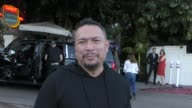 INTERVIEW Crispin Alapag talks about everything going on in the NBA outside Chateau Marmont Hotel in West Hollywood in Celebrity Sightings in Los...