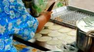 Crispy pancakes - Bangkok, thailand