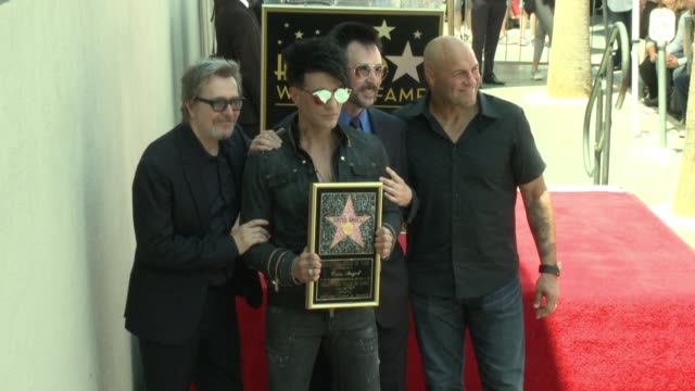 Criss Angel Gary Oldman Lance Burton Randy Couture on July 20 2017 in Hollywood California