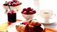 Croissant per la prima colazione