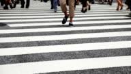 Crossing Street/Tokio, Japan