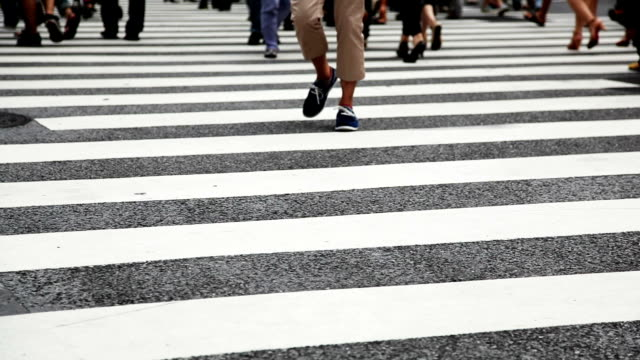 Crossing Street/Tokio, Japan