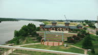 Crossing the Arkansas River at Fort Smith