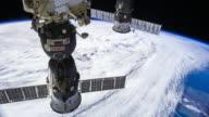 ISS Crossing the Mediterranean - Timelapse