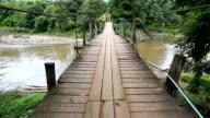 Crossing the Rope Bridge Full HD.