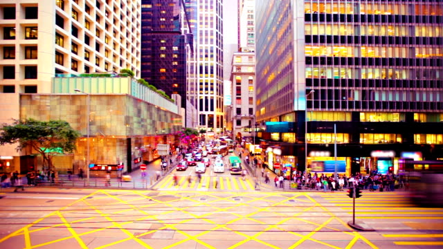 Crossroads in Hong Kong