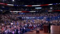 WGN Crowd At RNC on August 29 2012 in Tampa Florida