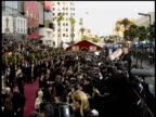 crowd at the 2004 Academy Awards Arrivals at the Kodak Theatre in Hollywood California on February 29 2004