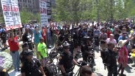 Crowd clashes with preachers who are antiMuslim at an RNC Protest in Cleveland