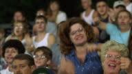 CU PAN Crowd in bleachers reacting to game