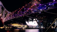 Crowd Night On The Bridge
