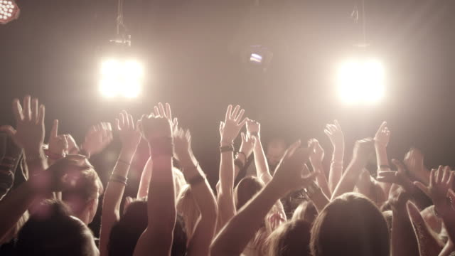Menschenmenge am Konzert