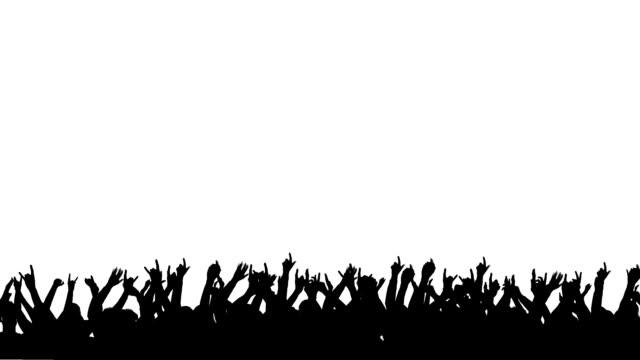 Publikum silhouette