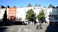 Überfüllten Innenstadt in Köln