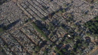 AERIAL WS ZI Crowded residential district, Johannesburg, Gauteng, South Africa