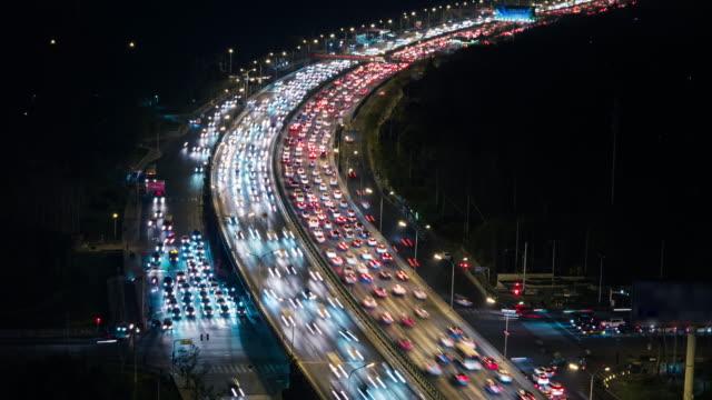 T/L HA ZO Crowded Traffic / Beijing, China