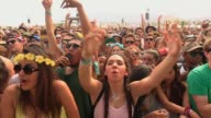ATMOSPHERE Crowds at 2014 Coachella Valley Music And Arts Festival Weekend 2 on April 18 2014 in Indio California