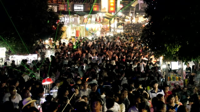 Crowds in China Asia