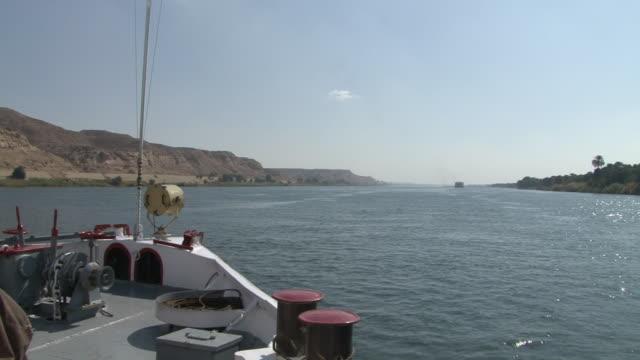 WS POV Cruise on river  / Assuan, Egypt
