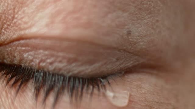 ECU Crying brown colored eye
