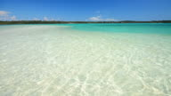 Crystal Clear Water Beach on Paradise Island