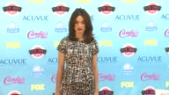 Crystal Reed at 2013 Teen Choice Awards Arrivals on 8/11/2013 in Universal City CA