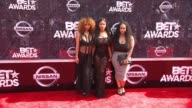 Crystal Westbrooks India Love Westbrooks and Morgan Westbrooks at the 2015 BET Awards on June 28 2015 in Los Angeles California