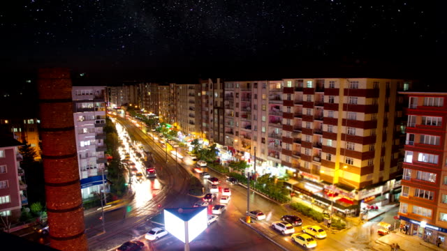 Cİty TimeLapse at Night