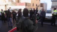 Cuatro israelies murieron y otros seis resultaron heridos el martes en un ataque en una sinagoga en Jerusalen perpetrado por dos palestinos que...