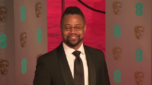 Cuba Gooding Jr at The EE British Academy Film Awards at The Royal Opera House on February 14 2016 in London England