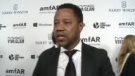 INTERVIEW Cuba Gooding Jr on why it was important for him to support amfAR at amfAR's Inspiration Gala Los Angeles 2015 in Los Angeles CA