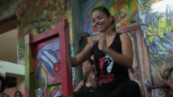 A Cuban dance and percussion company beats to a fusion of flamenco and afro Cuban rhythms the first of its kind on the island