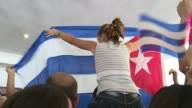 Cubas official civil society delegation protested Wednesday at the inclusion of dissidents in parallel forums to the upcoming Americas Summit