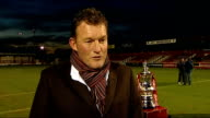 Mk Dons to meet AFC Wimbledon for the first time Preview London Dave Beasant interview SOT