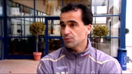 Third Round Roberto Martinez interview WALES Swansea EXT Roberto Martinez interview SOT