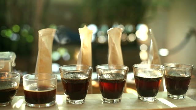 Cupping Coffee