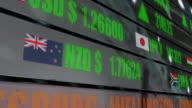 4K currency exchange rates and stock prices on LED ticker