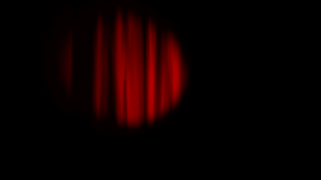 Curtains and spotlight